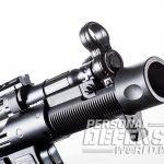 HK SP5K pistol front sight