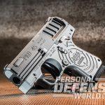 Heizer Defense PKO-45 pistol left angle
