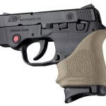 flat dark earth Hogue HandALL beavertail grip for s&w bodyguard 380