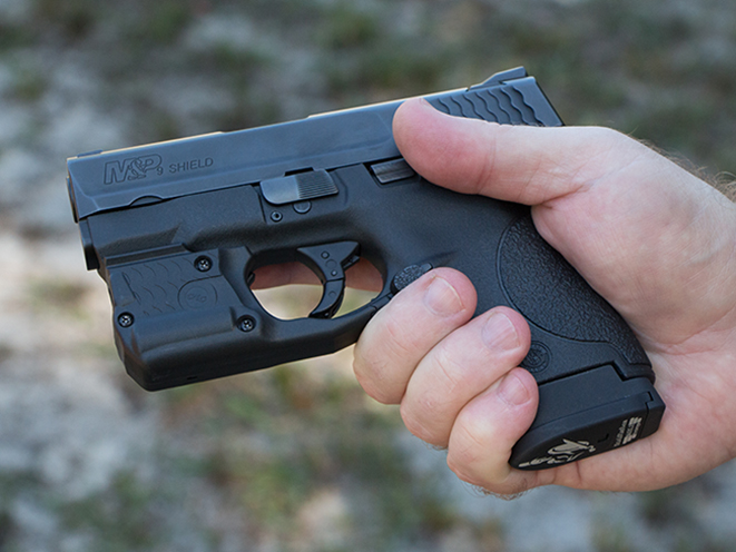 Crimson Trace laser for m&p shield