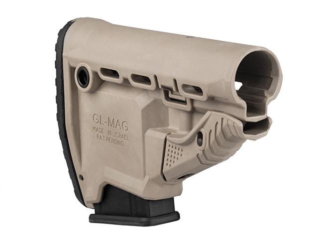 ar rifle gl-mag buttstock