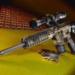 AR rifle 6.8 SPC