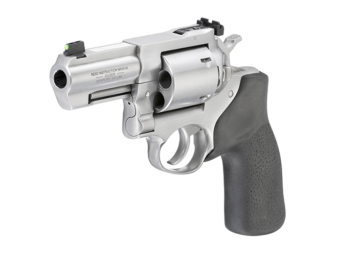Ruger GP100 .44 Special revolver left angle