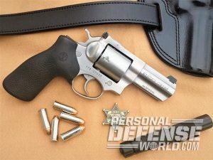 Ruger GP100 .44 Special revolver lead