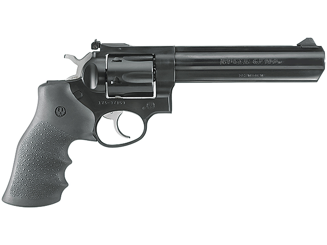 Ruger GP100 hunting revolvers