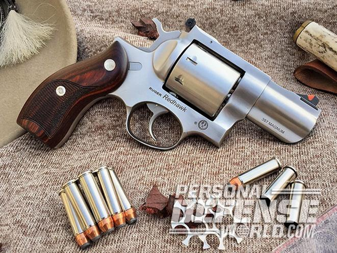 Hard Rocker: Testing the 8-Shot Ruger Redhawk in  357 Magnum