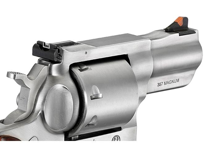 Ruger Redhawk revolver sights