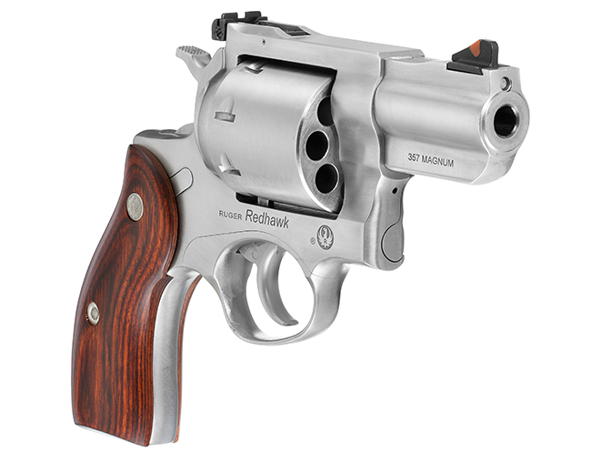 Ruger Redhawk revolver right angle