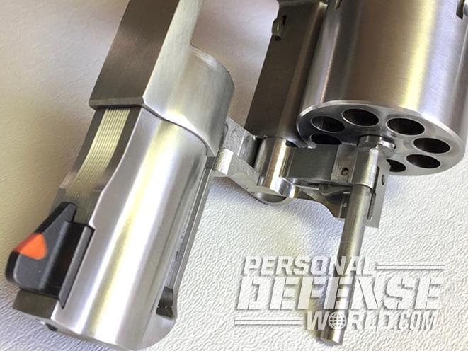 Ruger Redhawk revolver cylinder
