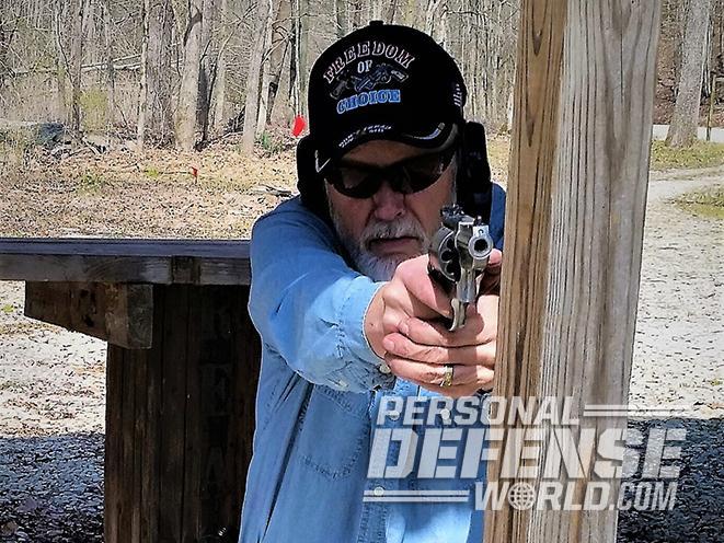 Ruger Redhawk revolver test