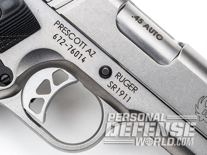 Right-On Target: The Ruger SR1911 Target  45 ACP