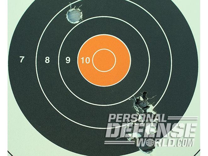 Ruger SR1911 Target pistol grouping
