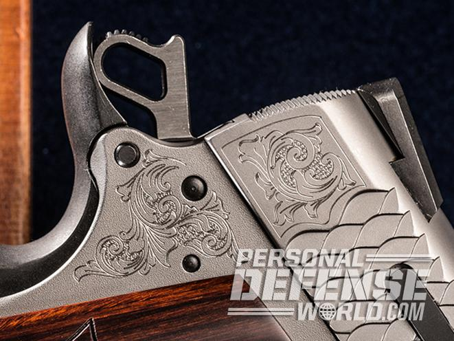 S&W Engraved 1911 hammer