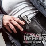 Sig 1911 Two-Tone Ultra Compact pistol holster