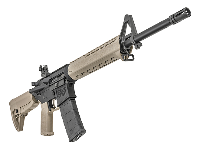 Springfield Saint FDE rifle front right angle
