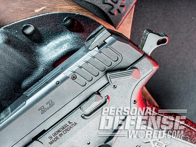 Springfield XD-E pistol hammer
