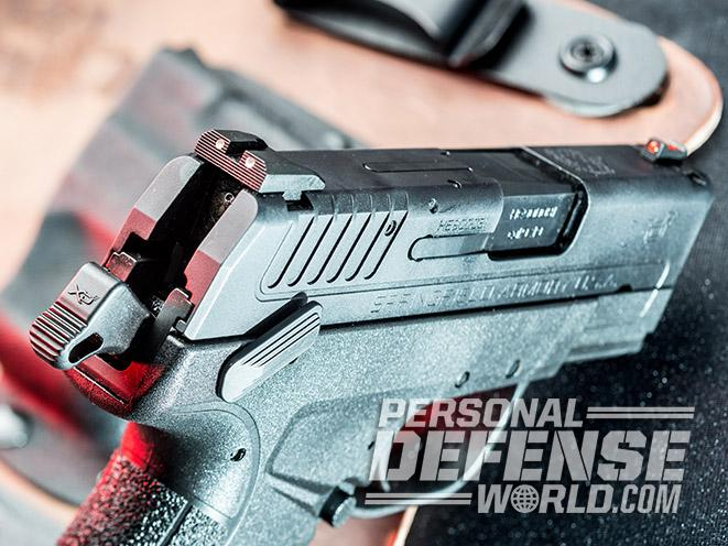 Springfield XD-E pistol rear sight