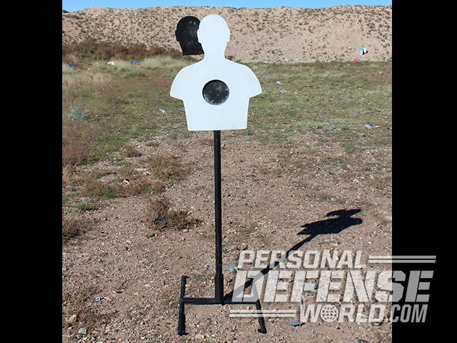 LV Steel Targets stand