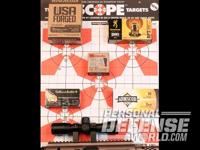 TNW Aero Survival Pistol target