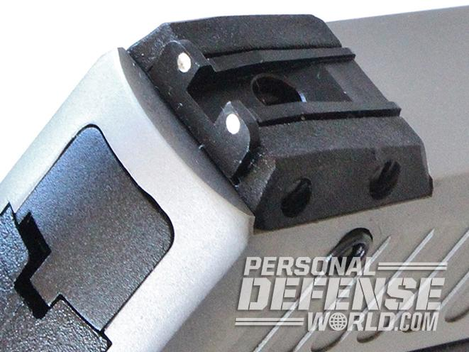 taurus 709 slim pistol truglo sights rear