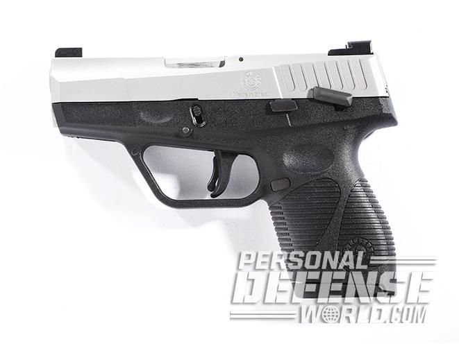 taurus 709 slim pistol left profile