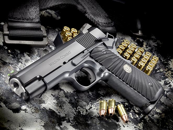 Wilson Combat Hackathorn Special Commander pistol another angle
