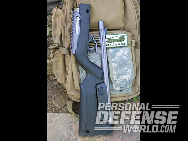 Tactical Solutions X-Ring Takedown rifle backpack