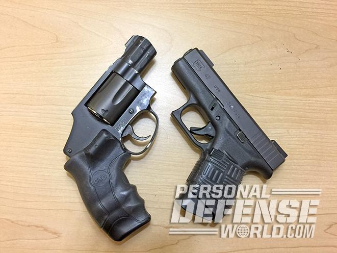 armed homeowner guns