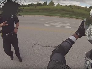 Cops vs Bikers Concealed Carry gun