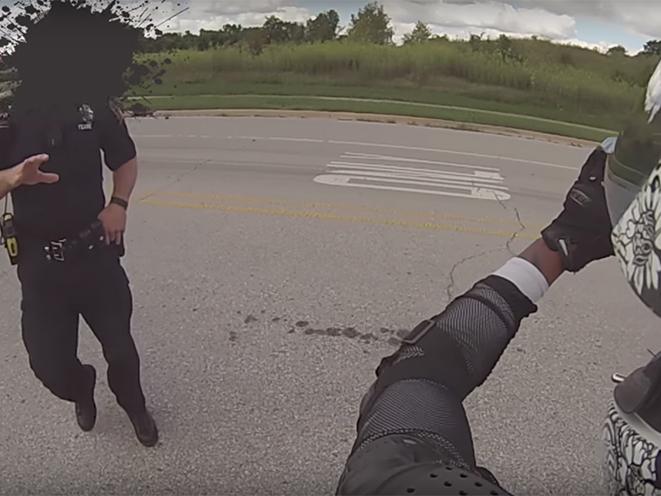 Cops vs Bikers Concealed Carry gun