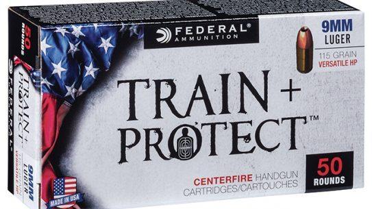 federal premium train + protect ammo