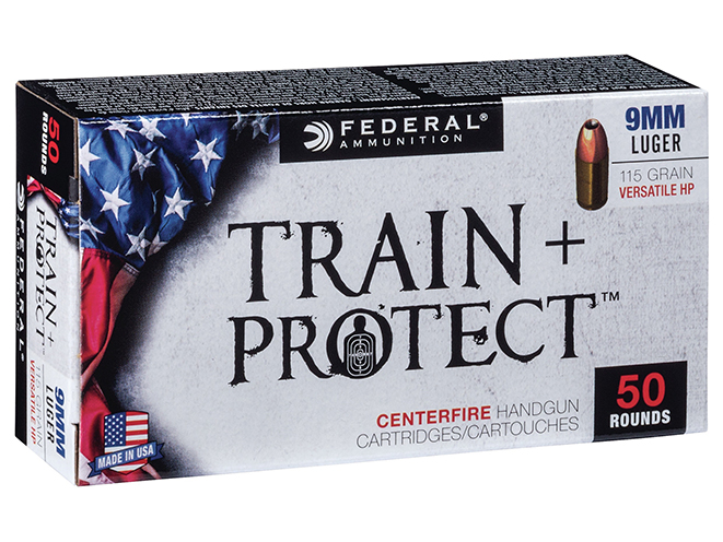 federal premium train + protect ammo