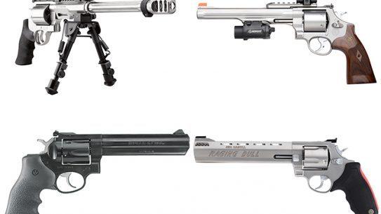 best hunting revolvers