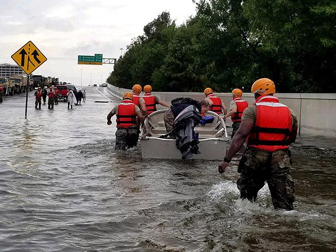 hurricane harvey soldiers