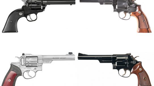 rimfire revolvers and camp guns
