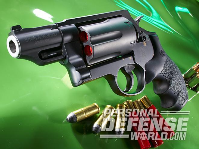 s&w governor revolvers