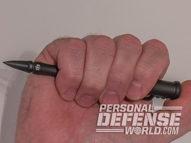 5.11 Double Duty Tactical 1.5 Pen in hand
