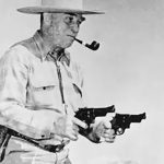 Elmer Keith revolvers handgun shooting