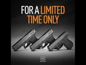 GLOCK rtf2 pistols