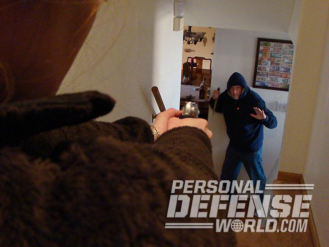 home alarm system clearing room
