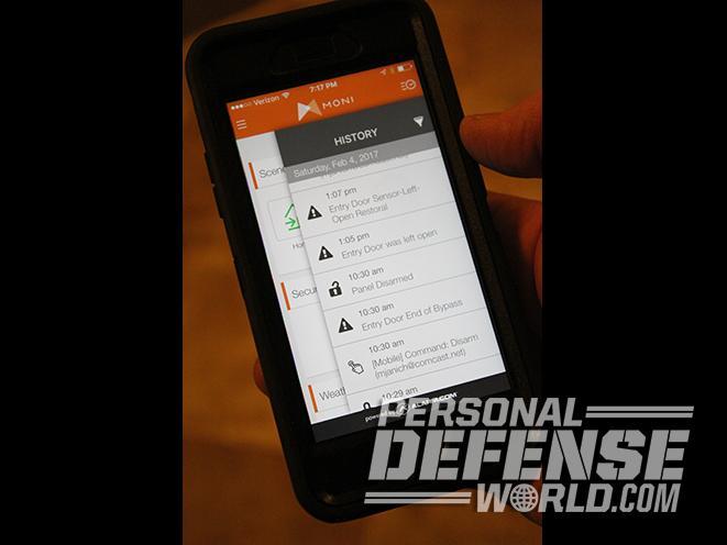 home alarm system smart phone