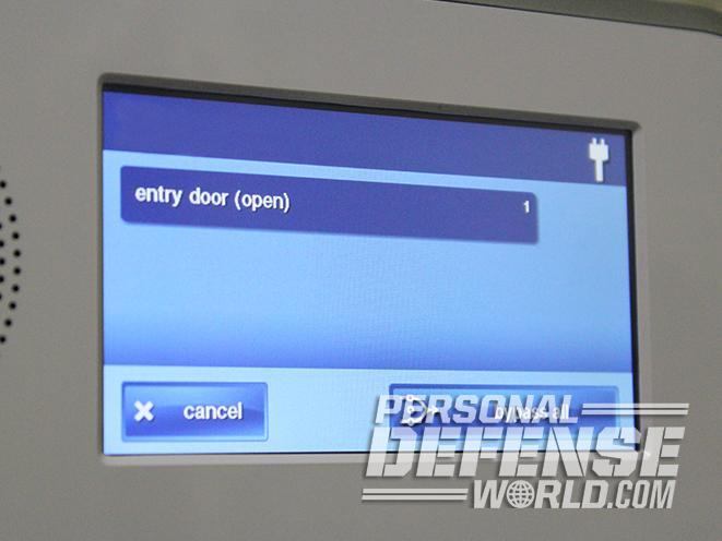 home alarm system sensor