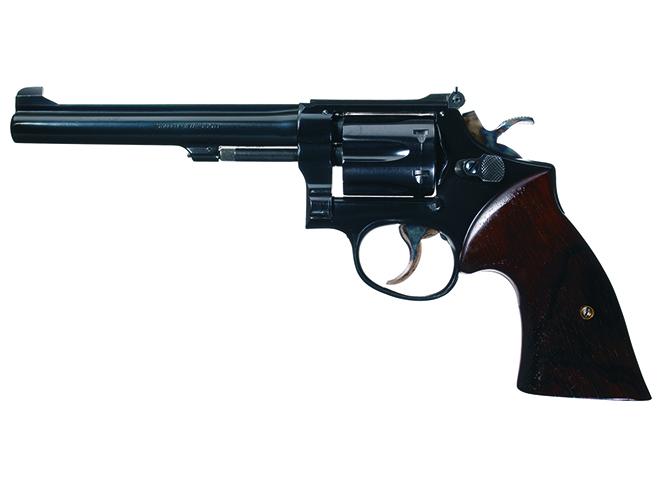 Jack Weaver revolvers handgun shooting s&w k38