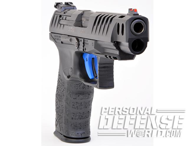 Walther Q5 Match pistol right angle