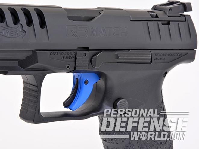 Walther Q5 Match pistol trigger