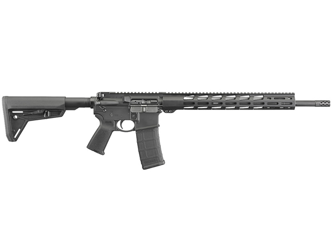 Ruger AR-556 MPR rifle right profile