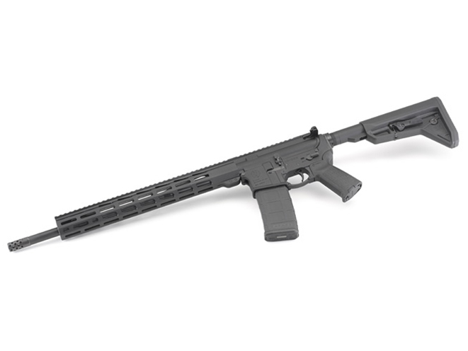 Ruger AR-556 MPR rifle left side view