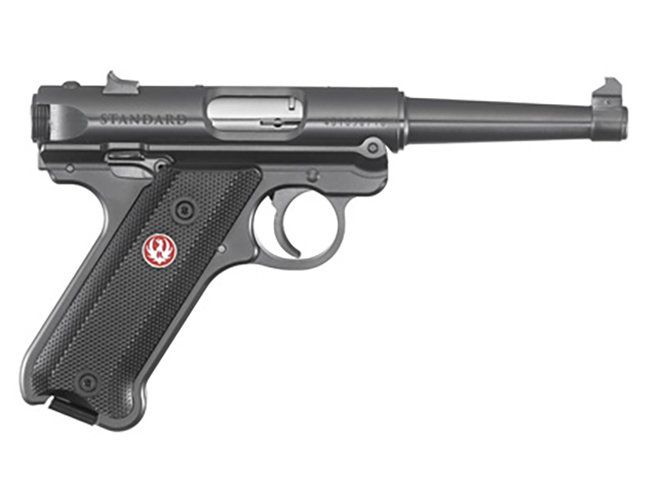 ruger mark iv standard pistol with 4.75-inch barrel