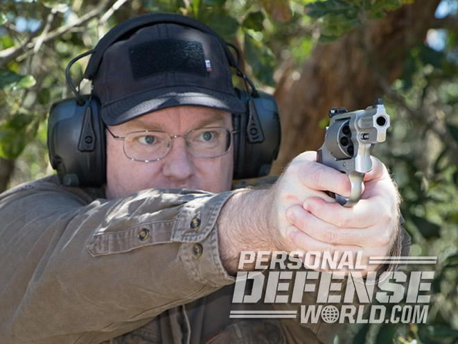 Smith & Wesson Performance Center Model 986 revolver test