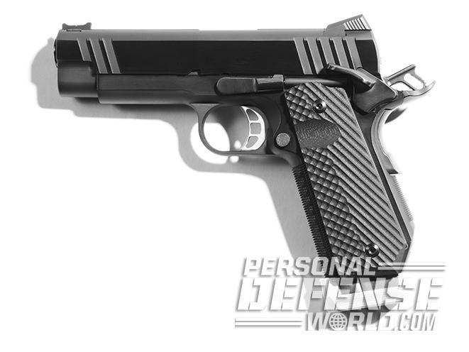 Tommy Guns USA Commander .357 SIG 1911 handgun left profile